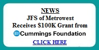 JFS Receives $100K Cummings Foundation Grant