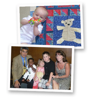 adoption family baby photos